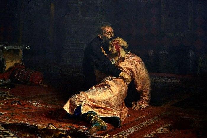 7 фактов о картине «Иван Грозный убивает своего сына»