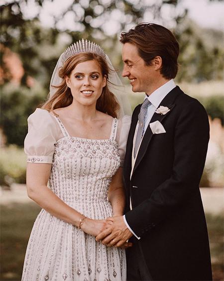 """Принцесса Беатрис дала редкий комментарий о сыне Эдоардо Мапелли Моцци: """"Для меня честь быть его мачехой"""" Монархи,Британские монархи"""