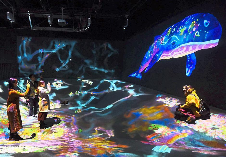 В Токие открыли уникальный музей цифрового искусства