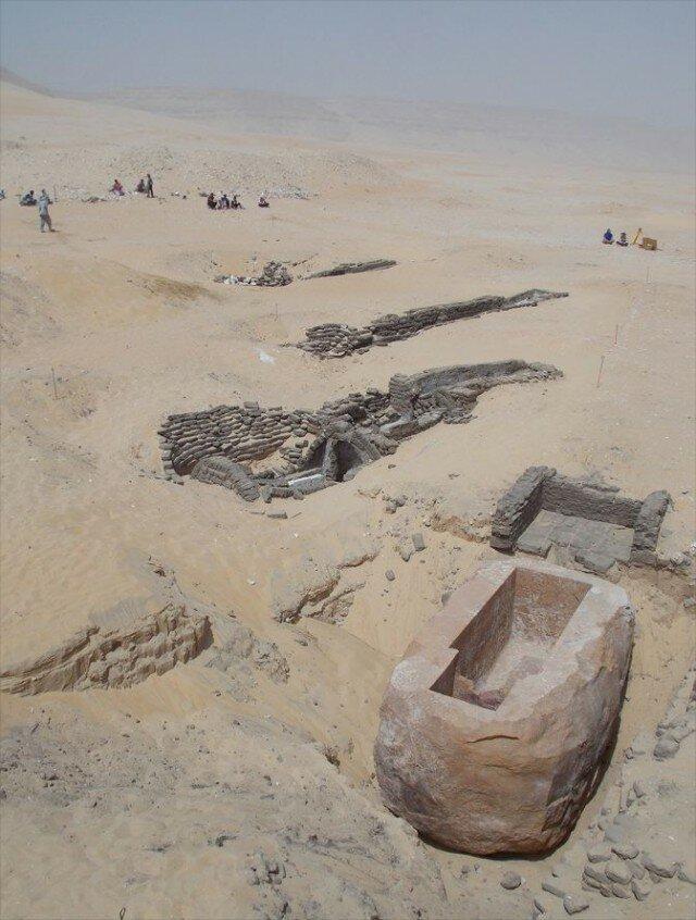 Гробницы в Абидосе археология, древний египет, интересно, история, наука