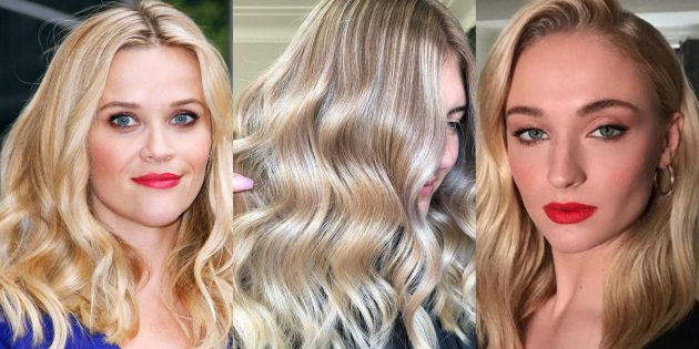 Модные цвета волос 2019года: крем-сода
