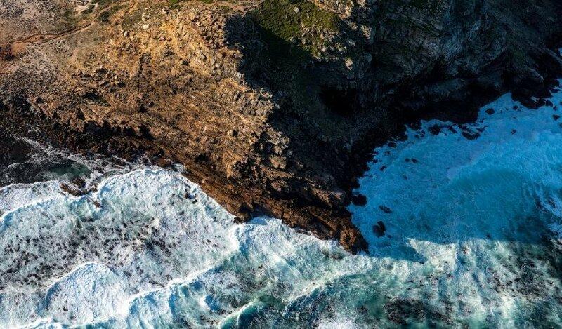 Мыс Доброй Надежды – столкновение двух океанов африка, мыс, океаны