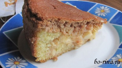 Швабский яблочный торт