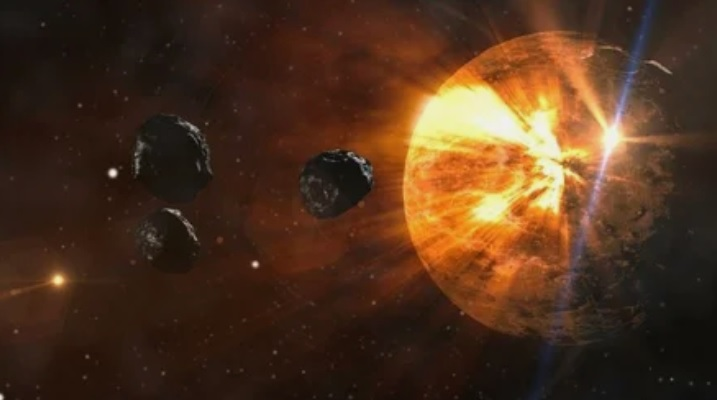 Обнаружен астероид нового типа