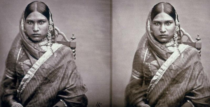 Коллекция фотографий гарема индийского махараджи, которая оставалась нетронутой более века