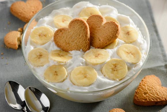 Быстрый мастер-класс: банановый пудинг десерты,кухни мира