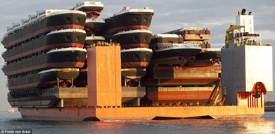 Самые большие морские суда в мире
