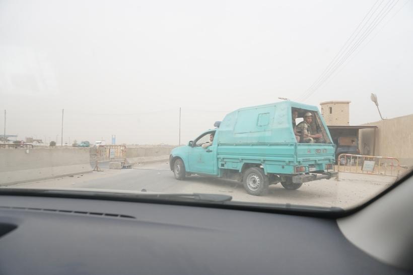 Поездка по Египту на машине в сопровождении полиции авиатур