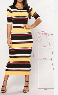Выкройка эффектных женских платьев на любой вкус