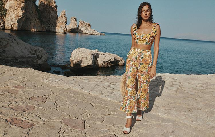 Сицилия зовет: соблазнительная Ирина Шейк в рекламе купальников бренда Zimmermann Мода,Новости моды