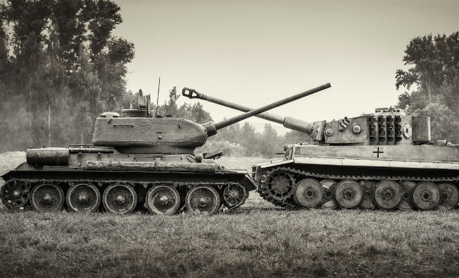 Т-34 против Королевского Тигра: первая встреча главных танков Второй Мировой