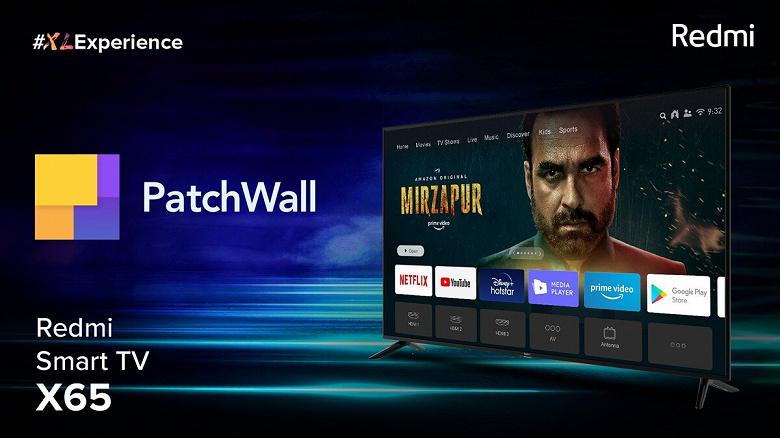 Представлены доступные телевизоры Redmi с 4K, Dolby Vision и Android TV 10 новости,статья,технологии