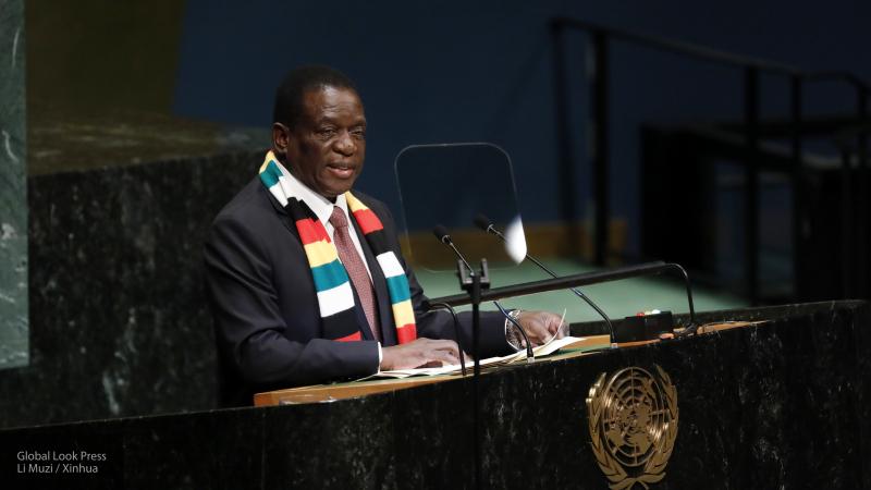 Причин для сохранения санкций ЕС против Зимбабве нет — Мнангагва