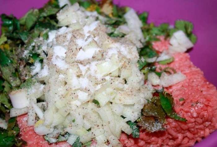 Люля-кебаб без шампуров в духовке мясные блюда