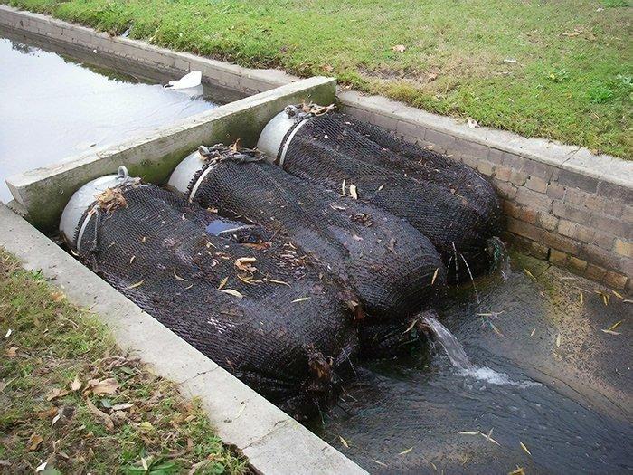 За 4 месяца сетки уловили около 370 кг отходов ynews, водные ресурсы, новые идеи, отходы, планета, спасение животные