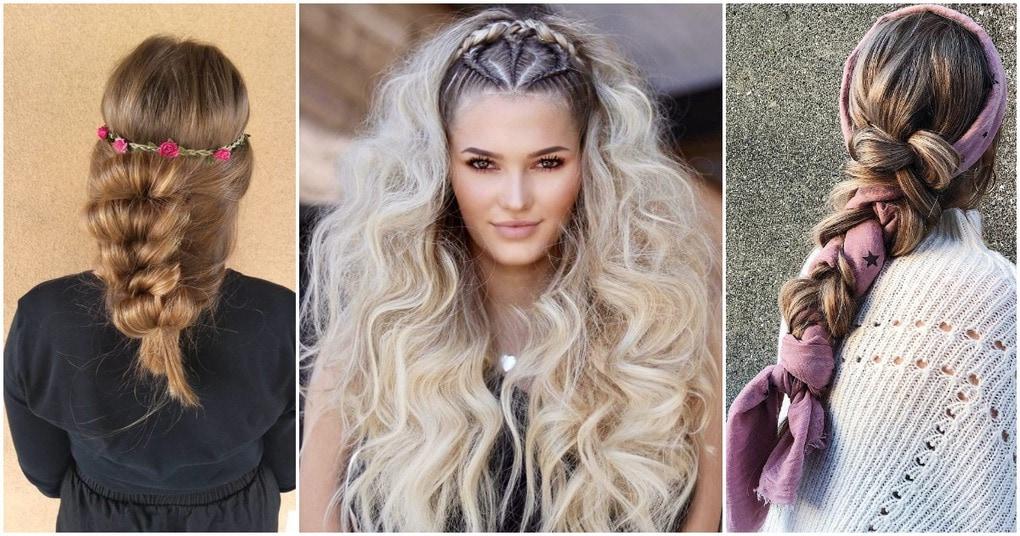 22 идеи крутых бохо-причёсок на разную длину волос