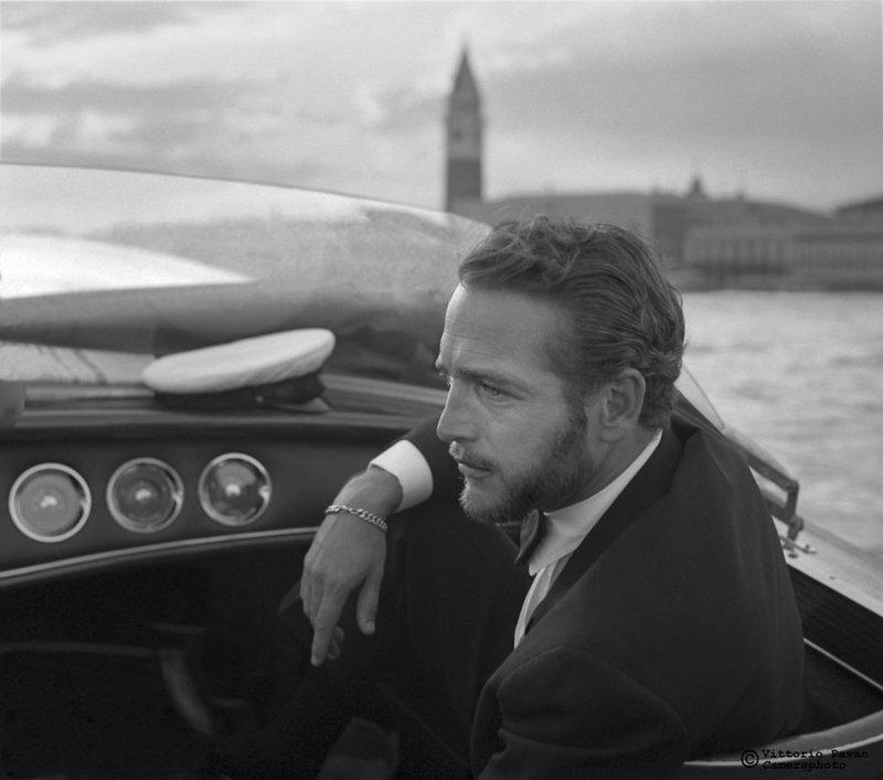 Пол Ньюман архив, венеция, негативы, фотографии