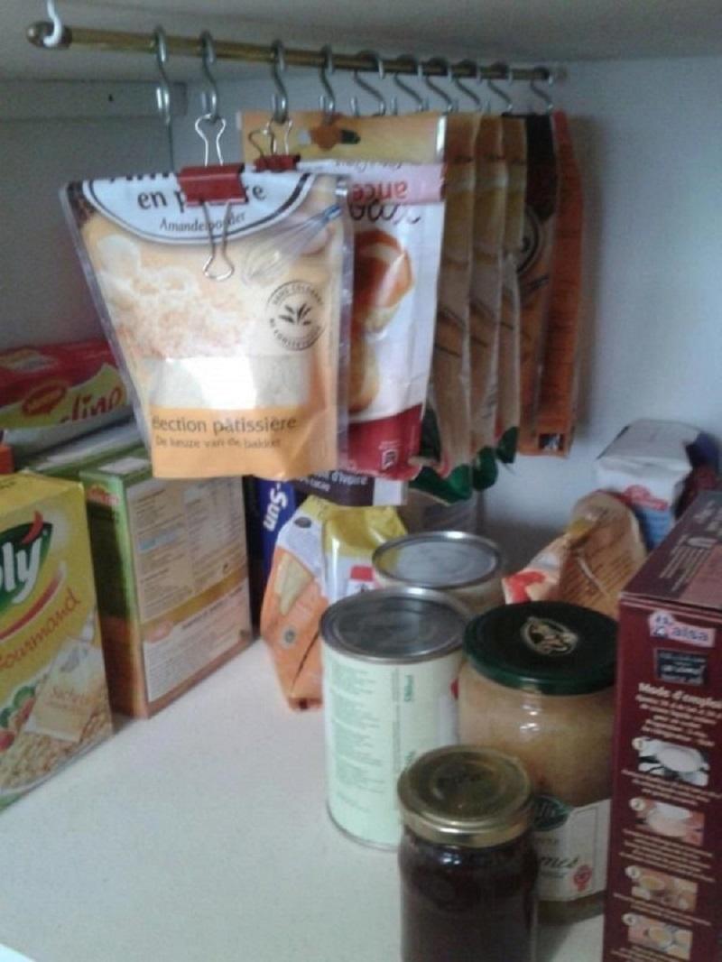 порядок в кухонных шкафчиках