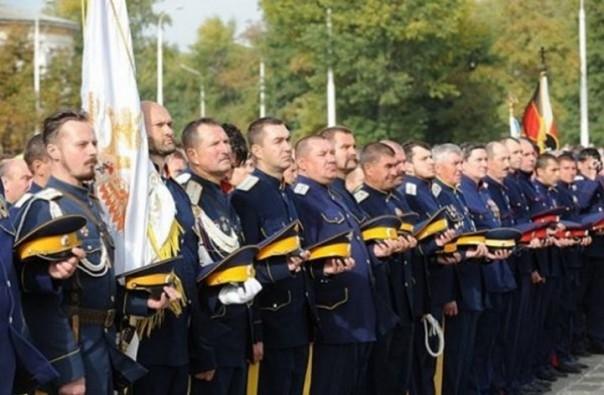 Забайкальские казаки в Австралии разогнали украинских националистов