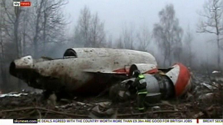 Sky: британский эксперт не верит в заключение российских следователей о смоленской трагедии