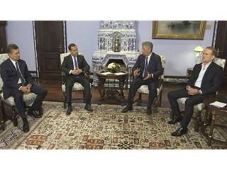 Странная встреча в Москве украина