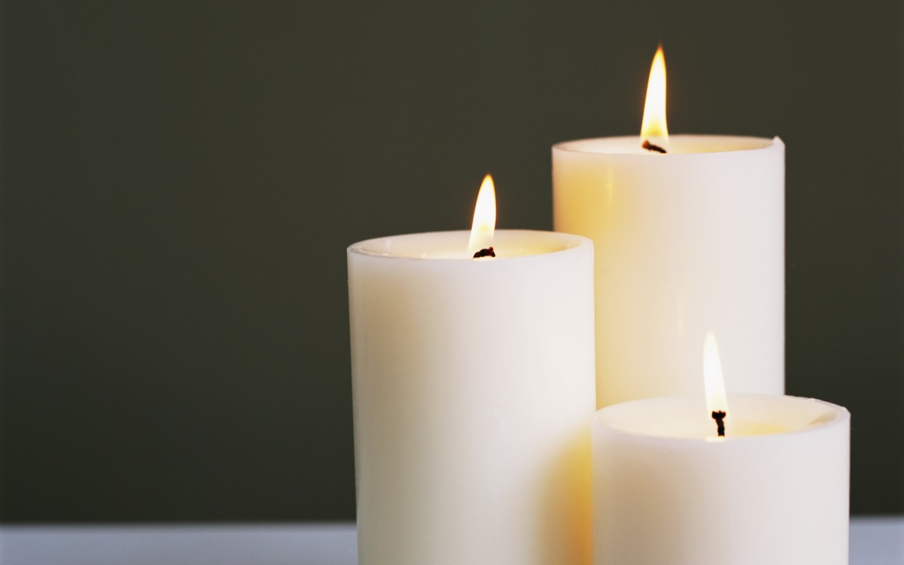 Весь процесс производства свечей