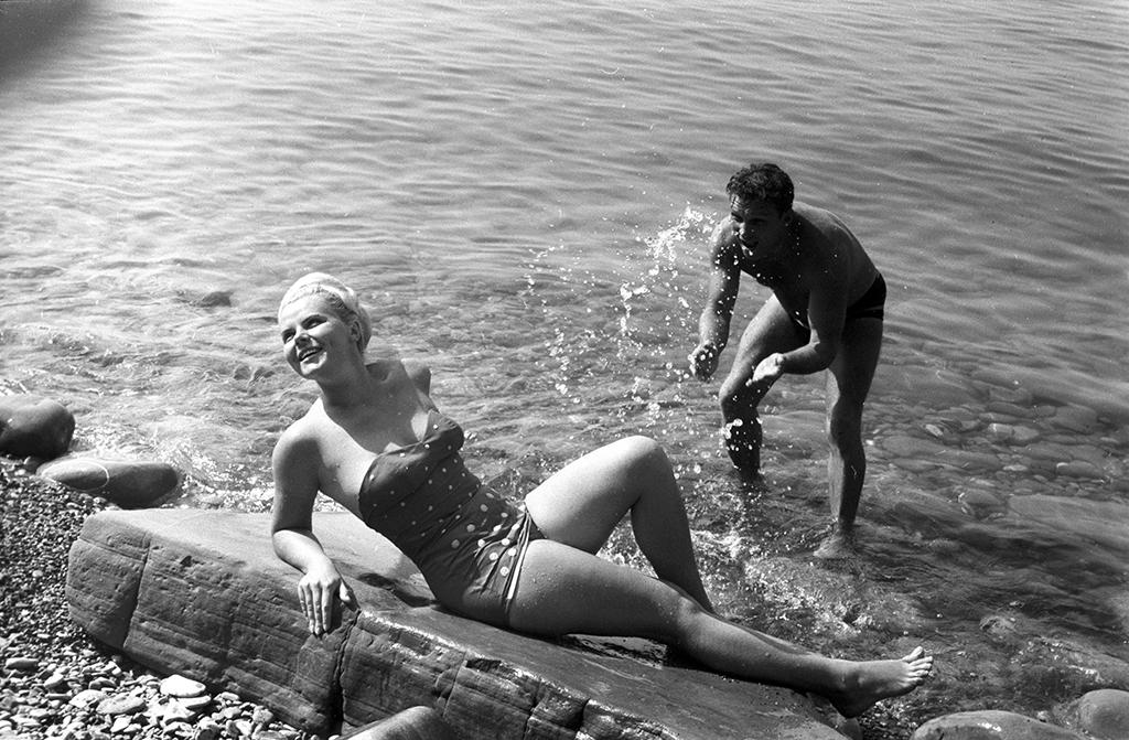 советские пляжные фото каштанова