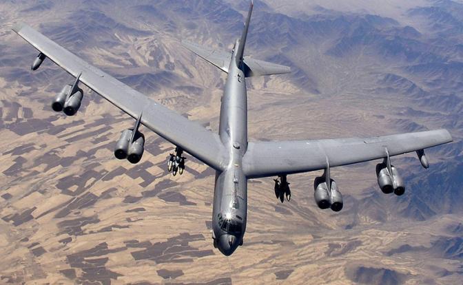 Бородатые партизаны «завалили» легенду Америки — бомбардировщик B-52