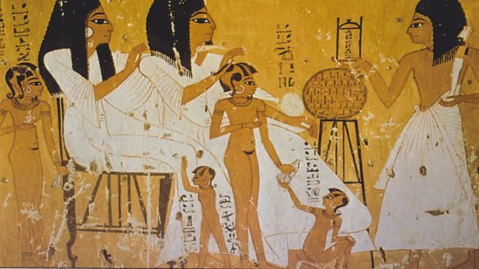 Как проходили роды у женщин в Древнем Египте