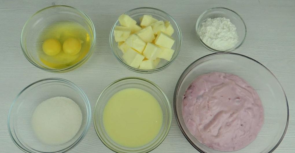 Очень вкусный заварной крем из йогурта и без сливок десерты