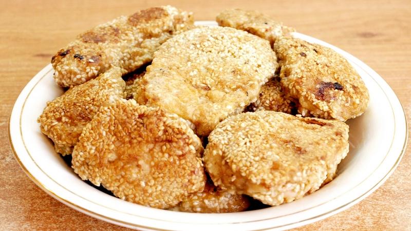 Курица в кунжуте - видео рецепт