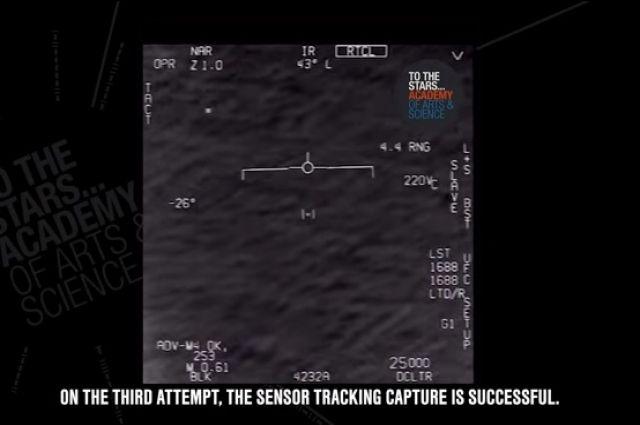 В сети появилось очередное видео перехвата НЛО самолетом ВВС США