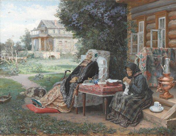 Всё в прошлом, 1889. Третьяковская галерея