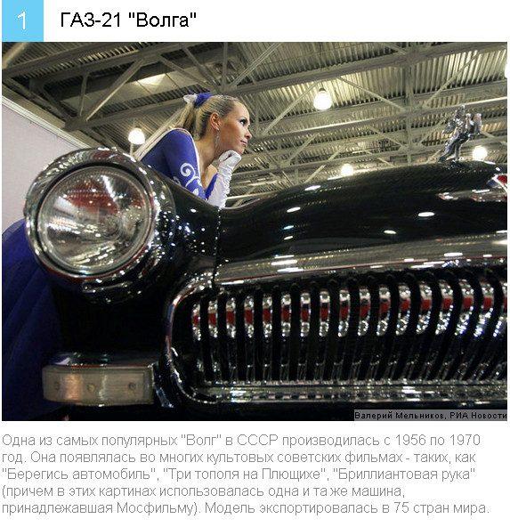 10 автомобилей, прославивших…