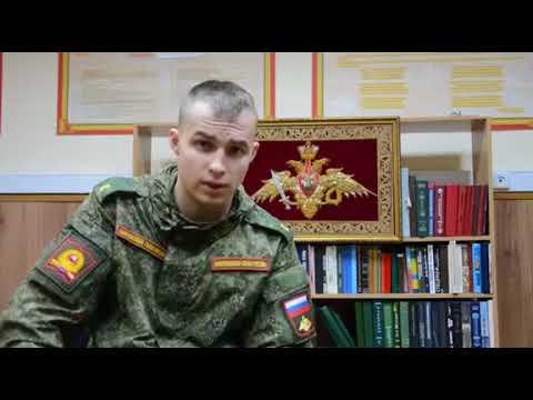 Ответ кремлевских курсантов ульяновским. Молодцы! Уважение!