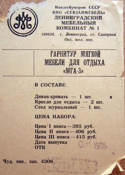 """Советские """"поясные"""" цены"""