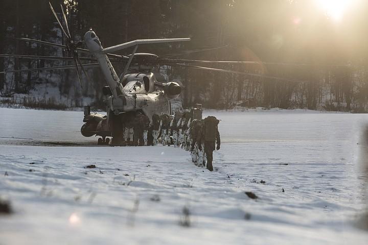 Словенские солдаты замерзли в Норвегии во время учения НАТО