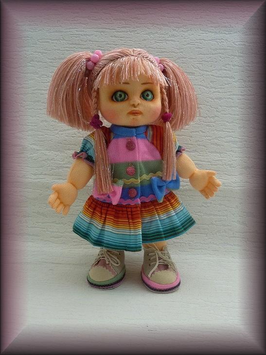 Моника. Текстильная кукла