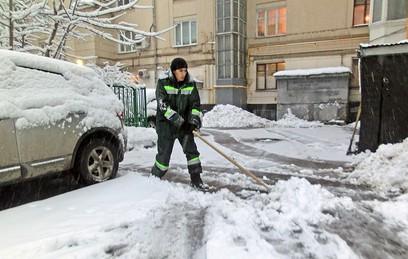 """Как Москва пережила """"снегопад века"""""""