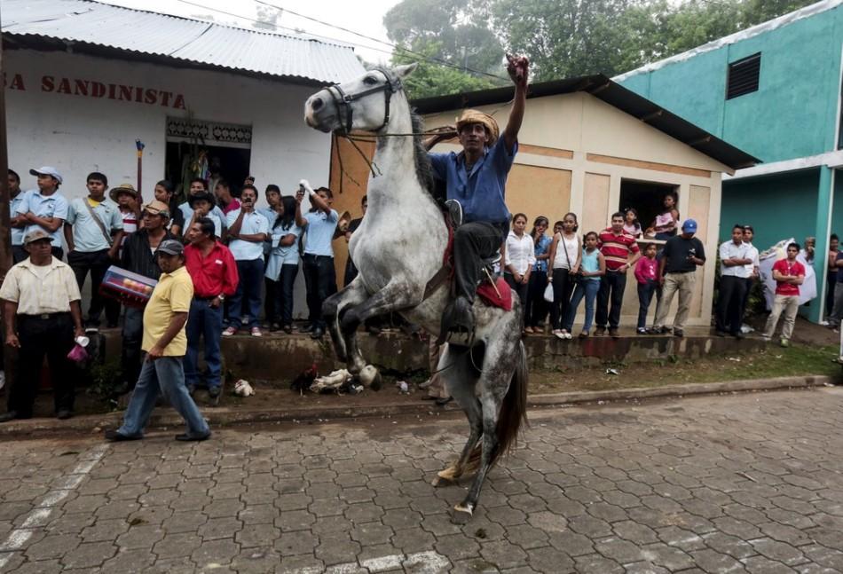 [:RU]Отвратительные торжества в честь Сан-Хуан-Баутиста в Никарагуа