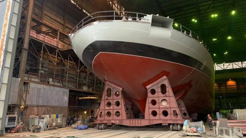 Проект 21180М: ледоколы будущего вмф