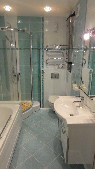 Ванная комната-оазис комфорта:личный опыт