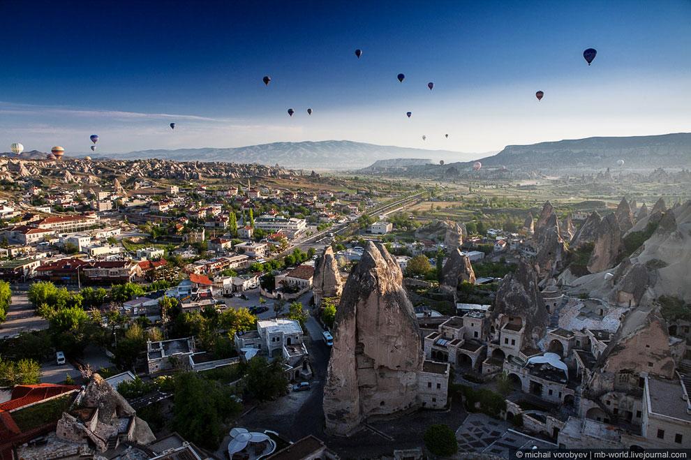 Полетаем над Каппадокией на воздушном шаре? воздушные шары,Каппадокия,Турция