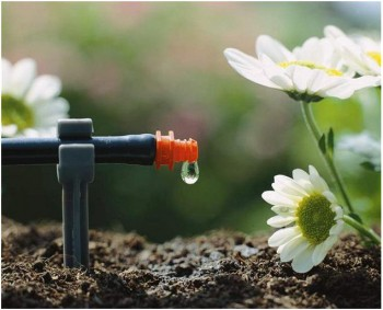Приобретите систему капельного орошения - экономит воду и время.
