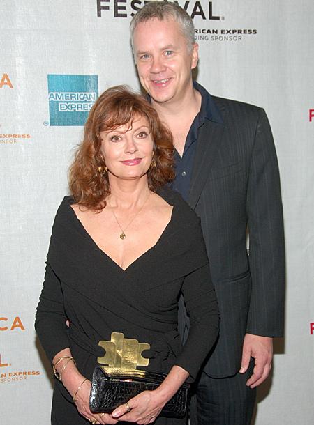 """Звезда """"Побега из Шоушенка"""" Тим Роббинс разводится с женой, которая младше его на 33 года Звезды,Звездные пары"""