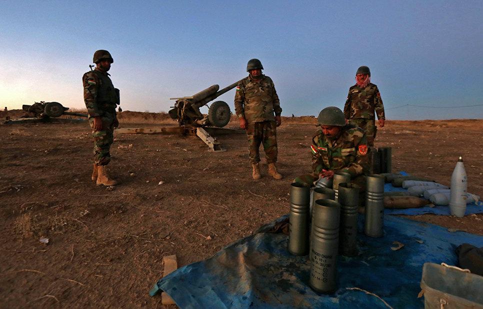 Боевики ИГ применили в Мосуле иприт: ну, что, янки, Асад и тут наследил?
