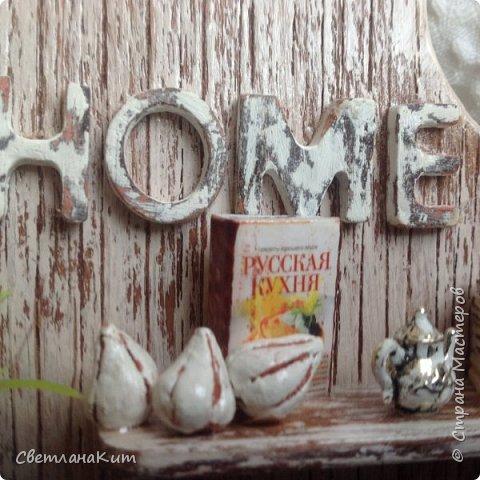 Кухонные панно с миниатюрами: мастер-класс домашний очаг