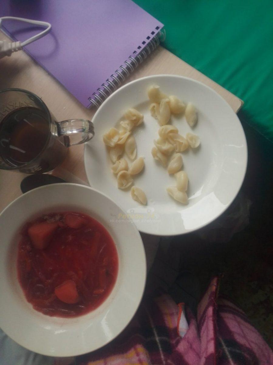 В Челябинске пациенты пожаловались на обед «из 25 макарон» коронавирус,общество,россияне