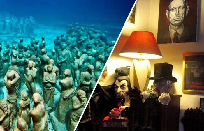 10 невероятных музеев, посетить которые отважится далеко не каждый