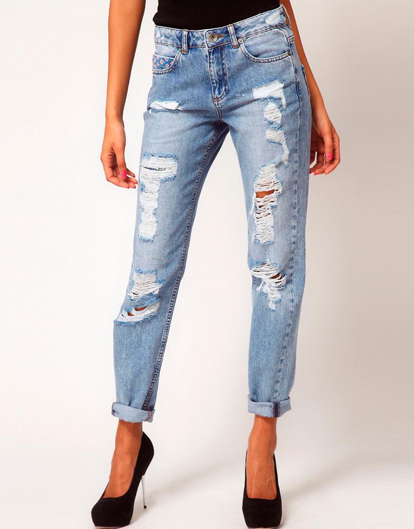 Фото драные джинсы